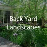 Back yard Landscaping Photos