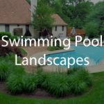swimming pool landscaping photos